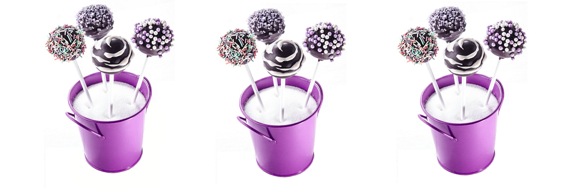 Sweet Nothings Images - Cake Pops in bucket image